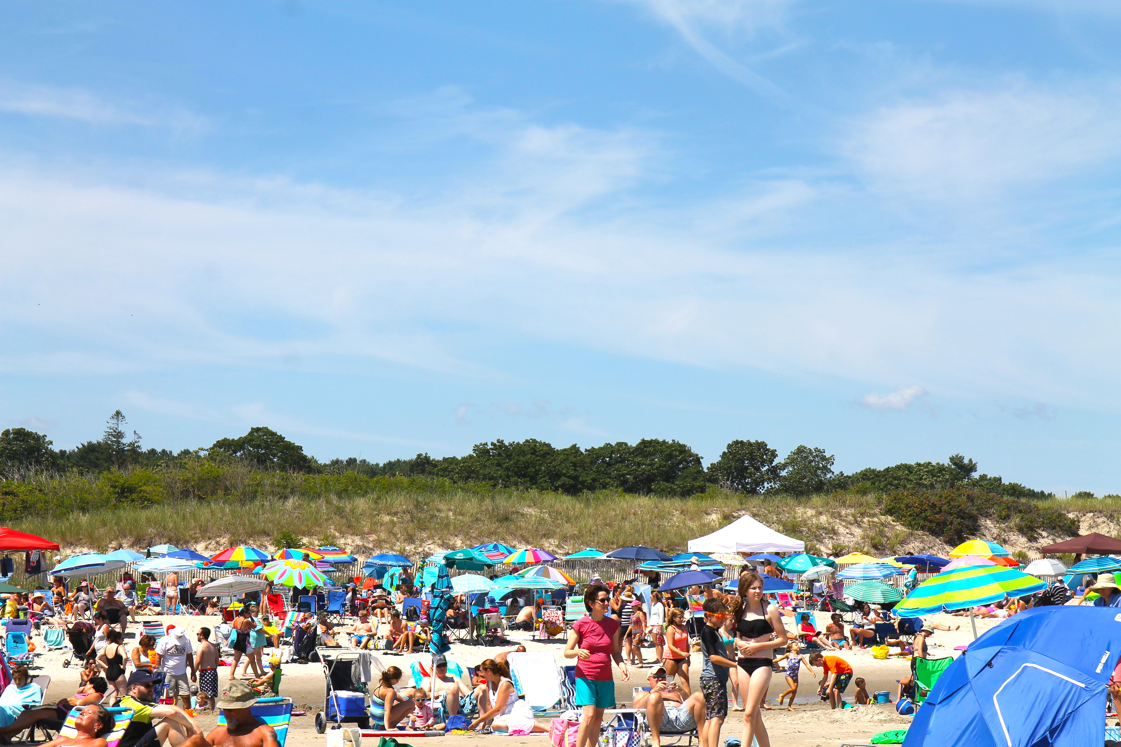 A typical August Ogunquit beach day.